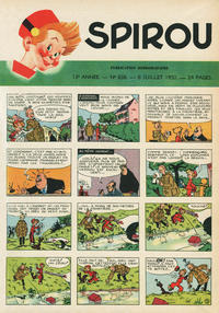 Cover Thumbnail for Spirou (Dupuis, 1947 series) #638