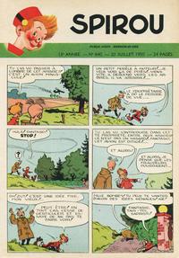 Cover Thumbnail for Spirou (Dupuis, 1947 series) #640