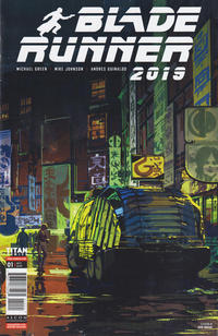 Cover Thumbnail for Blade Runner 2019 (Titan, 2019 series) #1 [Cover B - Syd Mead]