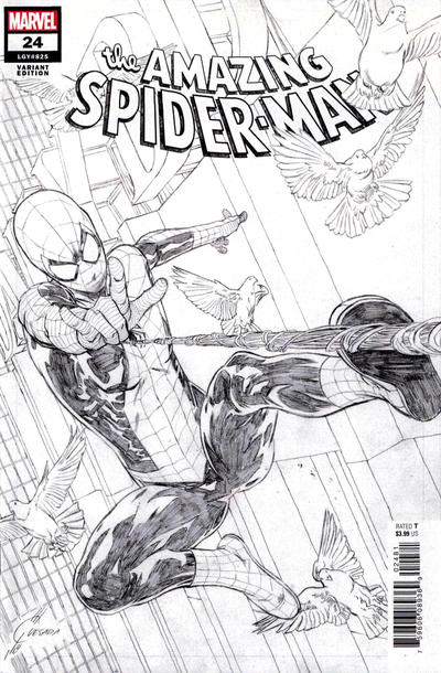 Cover for Amazing Spider-Man (Marvel, 2018 series) #24 (825)