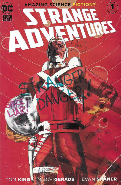 Cover for Strange Adventures (DC, 2020 series) #1 [Mitch Gerads Cover]