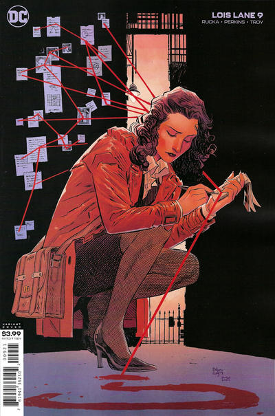 Cover for Lois Lane (DC, 2019 series) #9 [Bilquis Evely & Mat Lopes Cover]