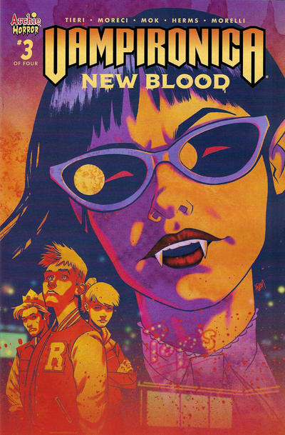 Cover for Vampironica: New Blood (Archie, 2020 series) #3 [Cover C Greg Smallwood]