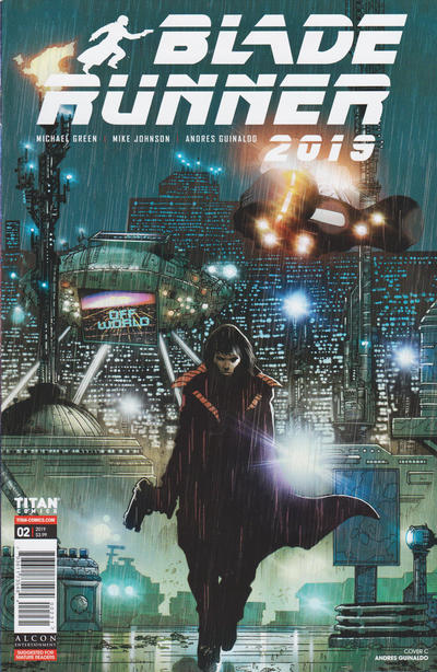 Cover for Blade Runner 2019 (Titan, 2019 series) #2 [Cover A]