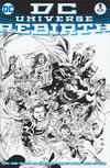 Cover Thumbnail for DC Universe: Rebirth (2016 series) #1 [Ivan Reis / Joe Prado Black & White Cover]