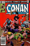 Cover for Conan the Barbarian (Marvel, 1970 series) #137 [Newsstand]