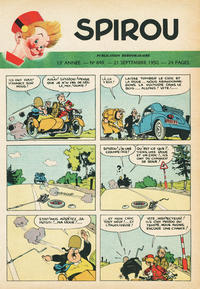 Cover Thumbnail for Spirou (Dupuis, 1947 series) #649