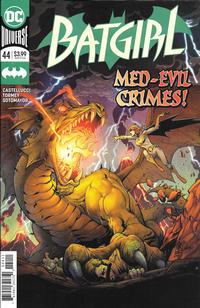 Cover Thumbnail for Batgirl (DC, 2016 series) #44