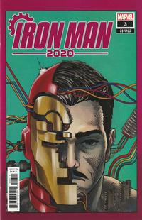 Cover Thumbnail for Iron Man 2020 (Marvel, 2020 series) #3 [Superlog]