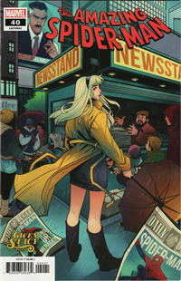 Cover Thumbnail for Amazing Spider-Man (Marvel, 2018 series) #40 (841) [Gwen Stacy Variant - Elizabeth Torque Cover]