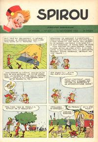 Cover Thumbnail for Spirou (Dupuis, 1947 series) #657