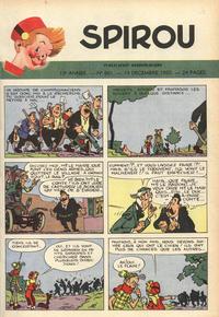 Cover Thumbnail for Spirou (Dupuis, 1947 series) #661