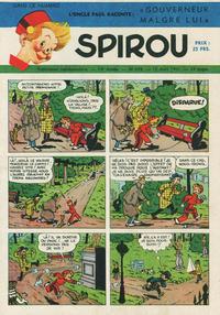 Cover Thumbnail for Spirou (Dupuis, 1947 series) #678
