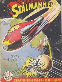 Cover Thumbnail for Stålmannen (Serieforlaget / Se-Bladene / Stabenfeldt, 1952 series) #11/1953