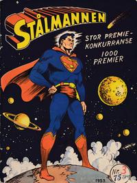 Cover Thumbnail for Stålmannen (Serieforlaget / Se-Bladene / Stabenfeldt, 1952 series) #3/1953