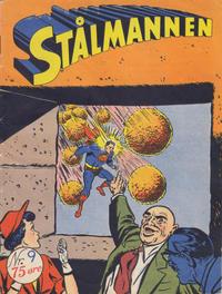 Cover Thumbnail for Stålmannen (Serieforlaget / Se-Bladene / Stabenfeldt, 1952 series) #9/1953