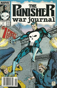 Cover Thumbnail for The Punisher War Journal (Marvel, 1988 series) #1 [Newsstand]