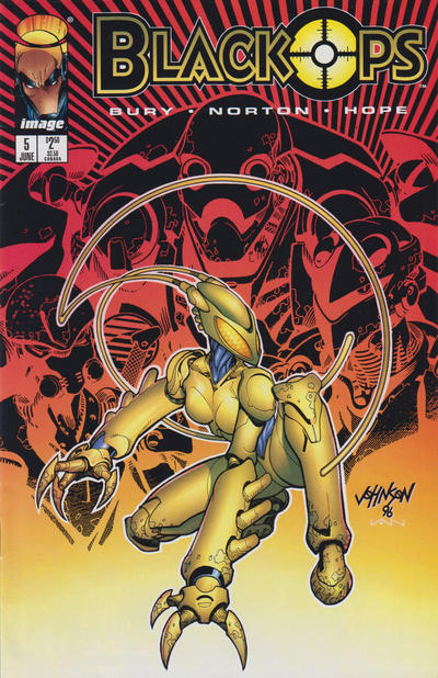 Cover for Black Ops (Image, 1996 series) #5 [Shire Cover - Norton]