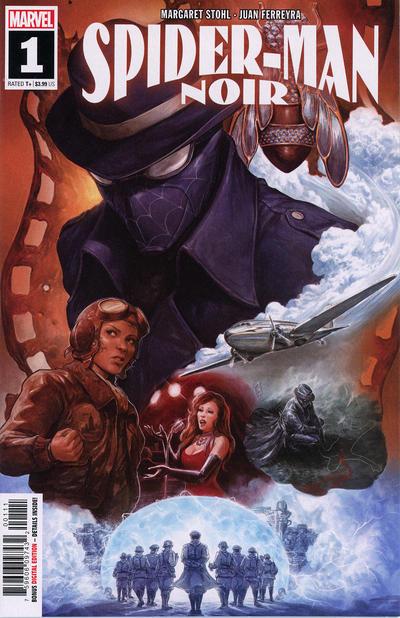 Cover for Spider-Man Noir (Marvel, 2020 series) #1 [Ron Lim & Israel Silva]