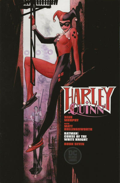 """Cover for Batman: Curse of the White Knight (DC, 2019 series) #7 [Sean Murphy """"Harley Quinn"""" Cover]"""