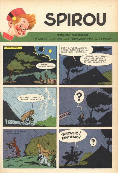 Cover for Spirou (Dupuis, 1947 series) #655