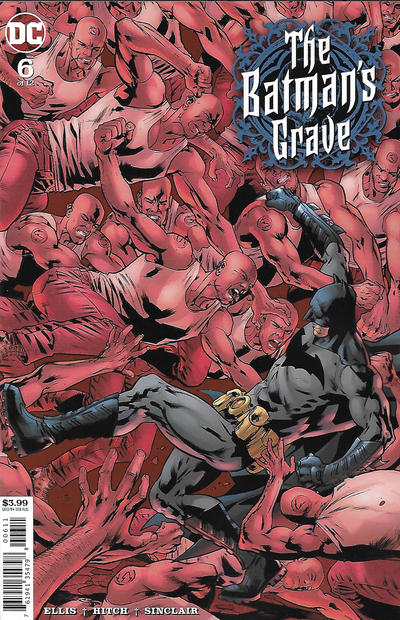 Cover for The Batman's Grave (DC, 2019 series) #6 [Jeehyung Lee Variant Cover]