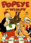 Cover for Four Color (Dell, 1942 series) #17 - Popeye and Wimpy