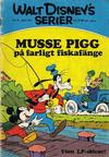 Cover for Walt Disney's serier (Hemmets Journal, 1962 series) #4/1972 - Musse Pigg på farligt fiskafänge