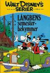 Cover for Walt Disney's serier (Hemmets Journal, 1962 series) #6/1972 - Långbens semesterbekymmer