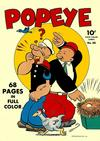 Cover for Four Color (Dell, 1942 series) #26 - Popeye