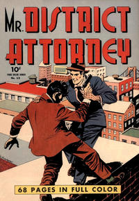 Cover Thumbnail for Four Color (Dell, 1942 series) #13 - Mr. District Attorney