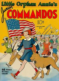 Cover Thumbnail for Four Color (Dell, 1942 series) #18 - Little Orphan Annie's Junior Commandos