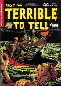 Cover Thumbnail for Tales Too Terrible to Tell (New England Comics, 1989 series) #9