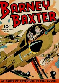 Cover Thumbnail for Four Color (Dell, 1942 series) #20 - Barney Baxter
