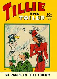 Cover Thumbnail for Four Color (Dell, 1942 series) #22 - Tillie the Toiler