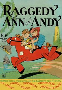 Cover Thumbnail for Four Color (Dell, 1942 series) #23 - Raggedy Ann and Andy