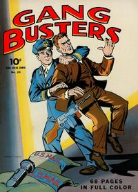 Cover Thumbnail for Four Color (Dell, 1942 series) #24 - Gang Busters
