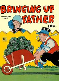 Cover Thumbnail for Four Color (Dell, 1942 series) #37 - Bringing Up Father