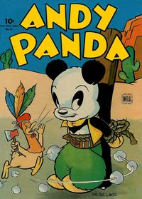 Cover Thumbnail for Four Color (Dell, 1942 series) #54 - Andy Panda