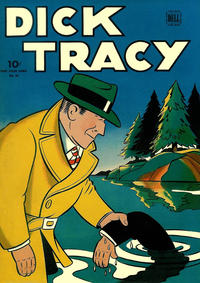 Cover Thumbnail for Four Color (Dell, 1942 series) #56 - Dick Tracy
