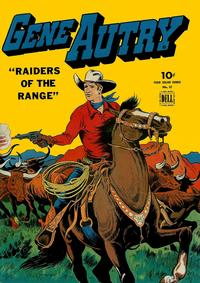 Cover Thumbnail for Four Color (Dell, 1942 series) #57 - Gene Autry, Raiders of the Range