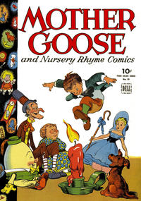 Cover Thumbnail for Four Color (Dell, 1942 series) #59 - Mother Goose and Nursery Rhyme Comics
