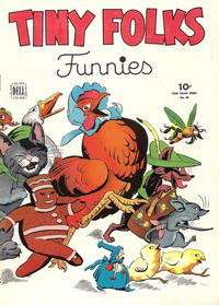 Cover Thumbnail for Four Color (Dell, 1942 series) #60 - Tiny Folks Funnies