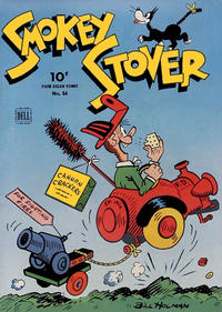 Cover Thumbnail for Four Color (Dell, 1942 series) #64 - Smokey Stover