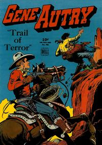 Cover Thumbnail for Four Color (Dell, 1942 series) #66 - Gene Autry, Trail of Terror