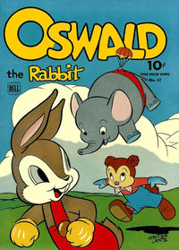 Cover Thumbnail for Four Color (Dell, 1942 series) #67 - Oswald the Rabbit
