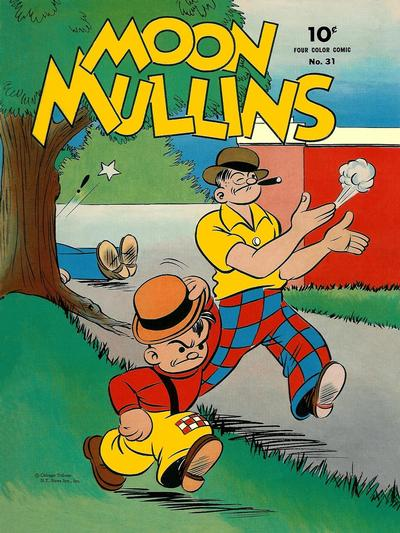Cover for Four Color (Dell, 1942 series) #31 - Moon Mullins