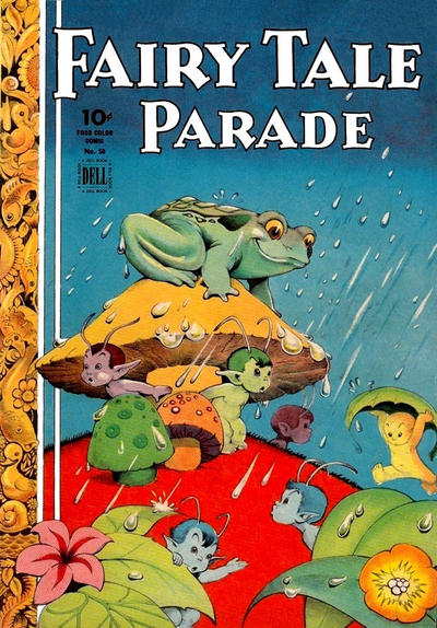 Cover for Four Color (Dell, 1942 series) #50 - Fairy Tale Parade