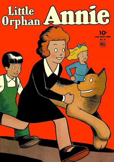 Cover for Four Color (Dell, 1942 series) #52 - Little Orphan Annie