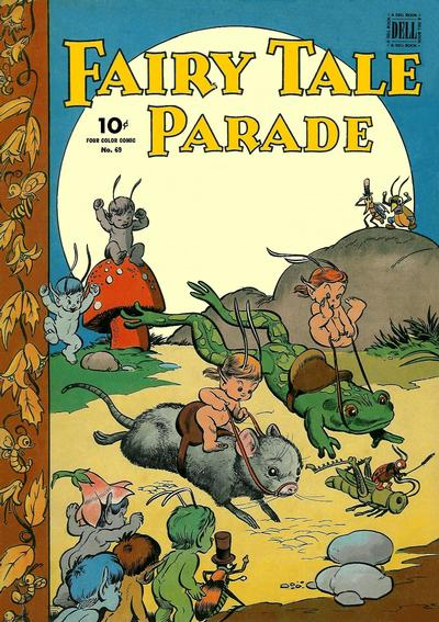 Cover for Four Color (Dell, 1942 series) #69 - Fairy Tale Parade
